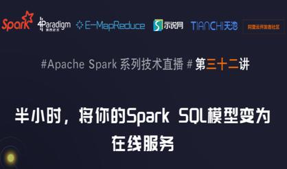 半小时,将你的Spark SQL模型变为在线服务