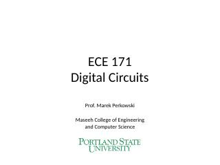 01 Digital Circuits