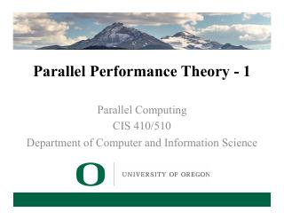 3-Parallel Performance Theory - 1