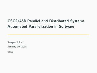 04-Automated Parallelization in Software