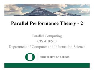 4-Parallel Performance Theory - 2