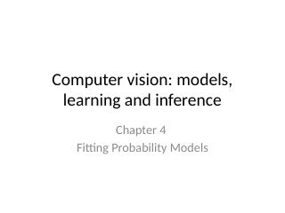 04_Fitting_Probability_Models
