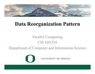 7-Data Reorganization Pattern