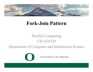 9-Fork-Join Pattern