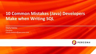 10 Common Mistakes (Java) Developers Make whe...