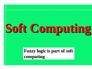 11_Intro_Fuzzy_Logic and Expert Systems