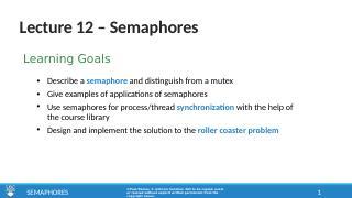 12_Semaphores