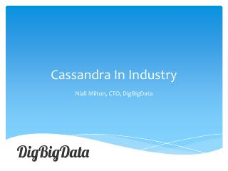 14/01 - Cassandra in Industry