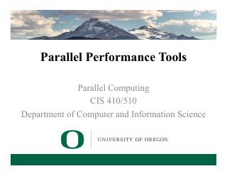 14-Parallel Performance Tools