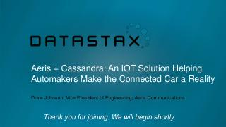 15/06 - Aeris & Cassandra-An IOT Solution Hel...