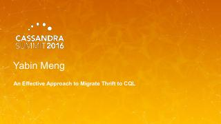 16/07 - An Effective Approach to Migrate Thri...