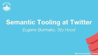 Semantic Tooling at Twitter (ScalaDays Copenh...
