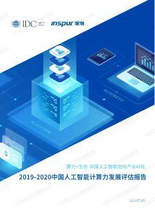 2019-2020中国人工智能计算力发展评...