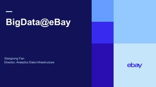 2019 eBay BigData TechDay Keynote