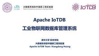 2020.10, Apache IoTDB...