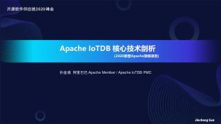 2020.11, Apache IoTDB...