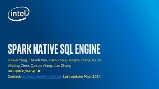 Native SQL Engine Introduction