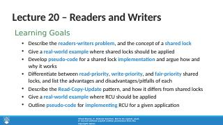 20_Readers_and_Writers