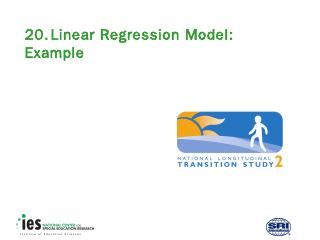 20. Linear Regression Model