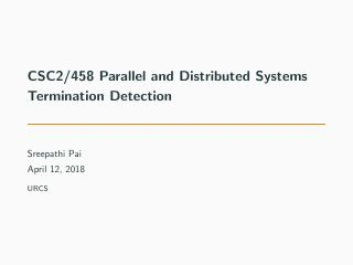 22-Termination Detection