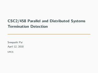 22-Termination Detection