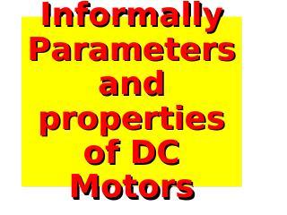 32_MOTOR PARAMETERS