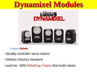 36_Dynamixel Servos