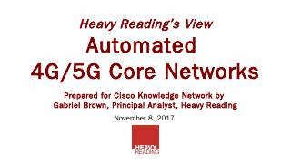 5G-Ready Mobile Core - Cisco