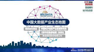 中国大数据产业生态地图