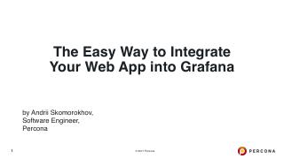A Easy Way to Integrate Your Web App into Gra...