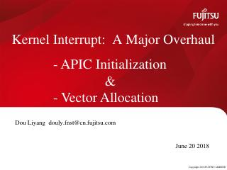 A Major Overhaul of the APIC Initialization a...