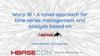 时序及分析在hbase上的使用
