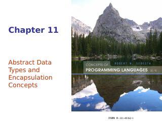 抽象数据类型和封装概念