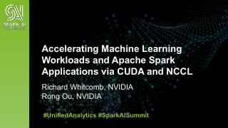 Accelerating Machine Learning Workloads and A...