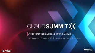 Accelerating Success In The Cloud
