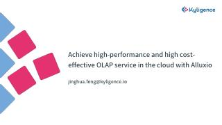 Achieve high-performance and high cost-effect...