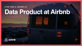 Data Product at Airbnb