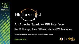 Apache Spark<= MPI接口