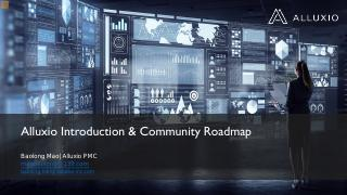 Alluxio Introduction & Community Roadmap