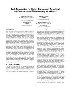 Analytical and Transactional Main-Memory Work...