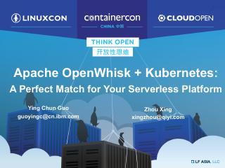 Apache OpenWhisk + Kubernetes- A Perfect Match
