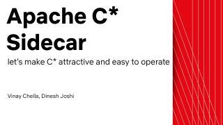 20_01 Apache Cassandra Sidecar
