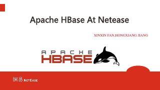 HBase 在网易的实践