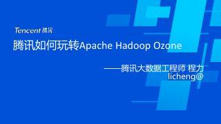 腾讯如何玩转Apache Hadoop O...