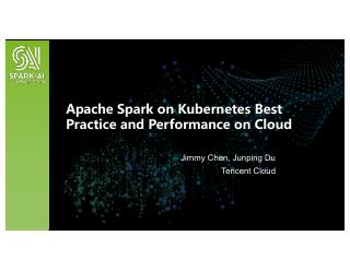 Apache Spark on K8S Best Practice and Perform...