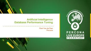 Artificial Intelligence Database Performance ...