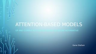 Attention-based Models