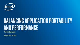 Balancing Application Performance and Portabi...