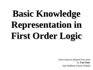 017-Basic Knowledge Representation in First O...