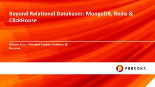 Beyond Relational Databases: MongoDB, Redis a...